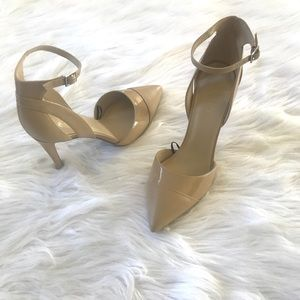 Marc Fisher nude heels.